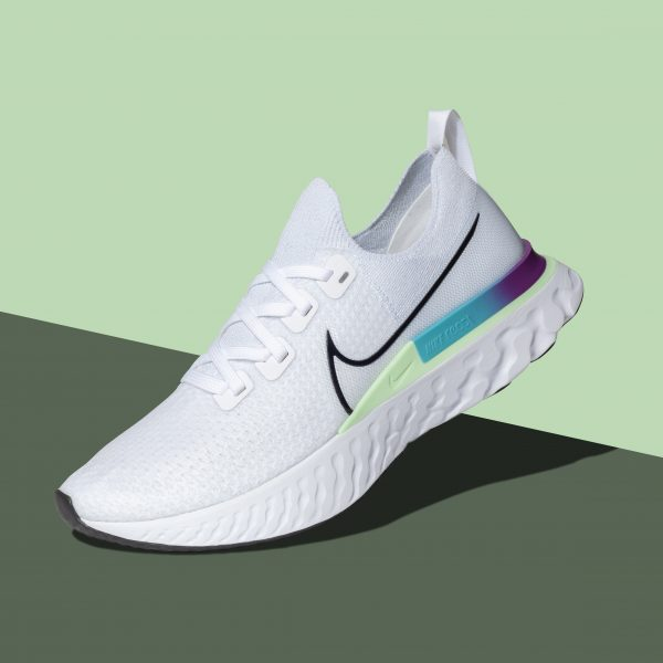 Product photography of Nike shoes
